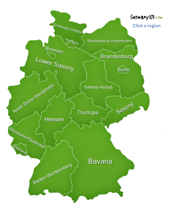 Map Of Germany Germany - Germany map nurburgring