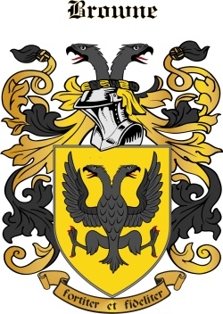 BROWNE family crest