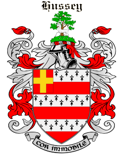 HUSSEY family crest