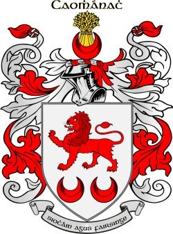 KAVANAUGH family crest