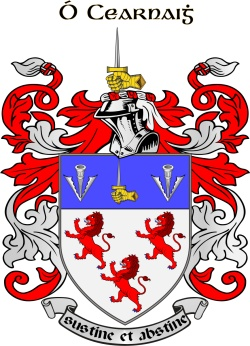 CARNEY family crest