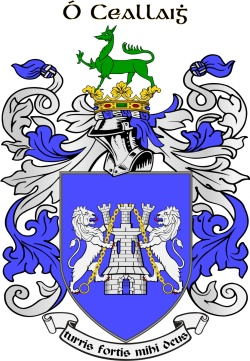 Kelly family crest