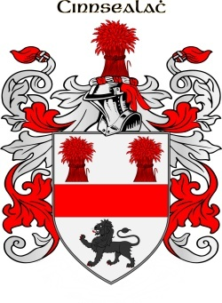 KINSELL family crest