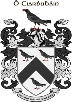 KIRVIN family crest