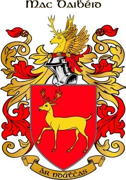MCDAVID family crest