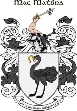 MACMAHON family crest