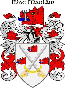MACMULLEN family crest