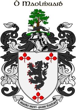 MOLLOY family crest