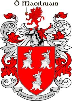 MULRINE family crest