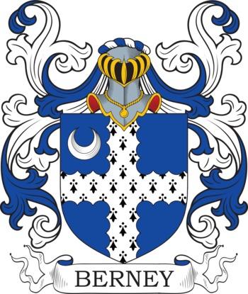 BERNEY family crest