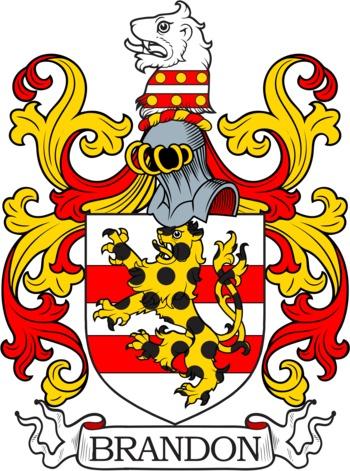 BRANDON family crest