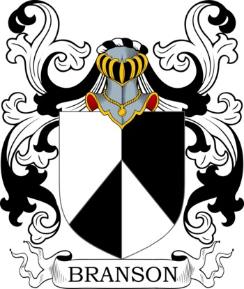 BRANSON family crest