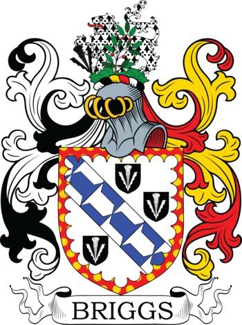BRIGGS family crest