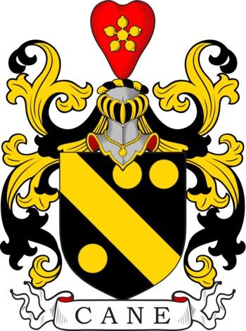 CANE family crest