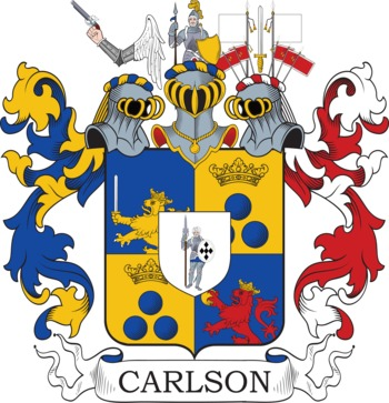 CARLSON family crest