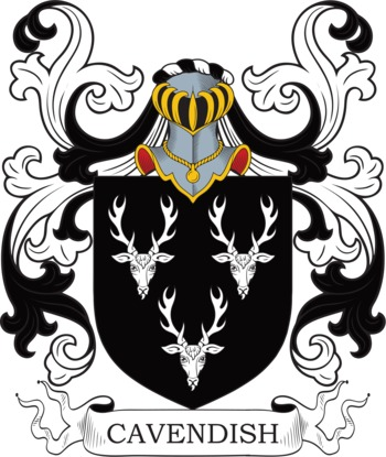 CAVENDISH family crest