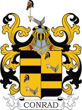Conrad family crest