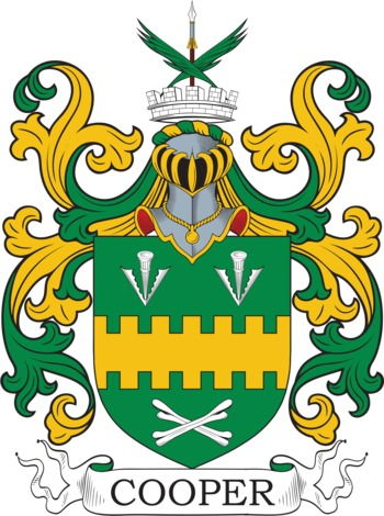 Coopey family crest