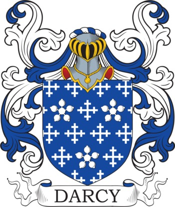 DARCY family crest