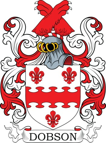 DOBSON family crest