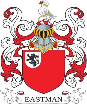 EASTMAN family crest