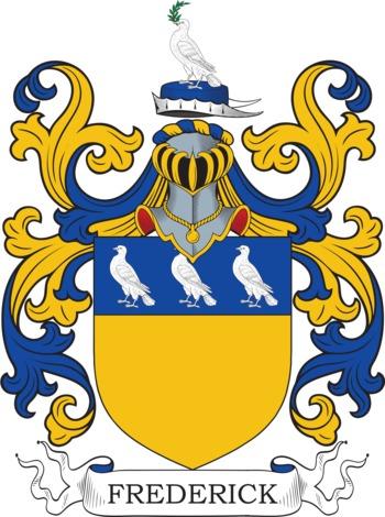 FREDERICK family crest