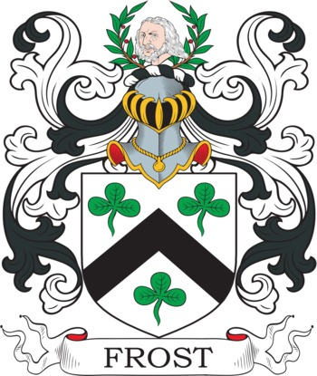 FROST family crest