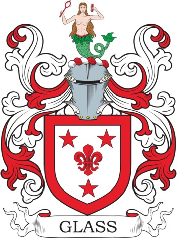 GLASS family crest