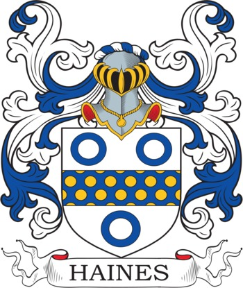 HAINES family crest