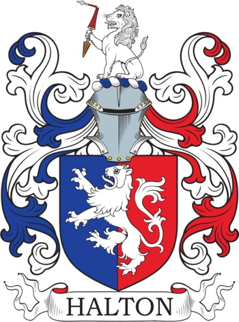 HALTON family crest
