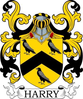 HARRY family crest