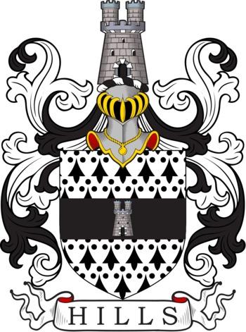 Hills family crest