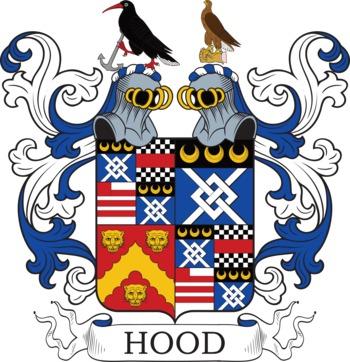 HOOD family crest