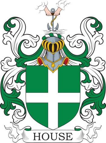 HOUSE family crest