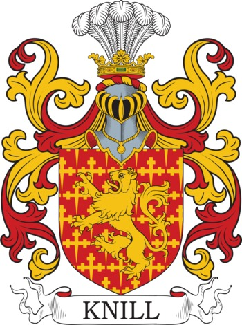 KNILL family crest