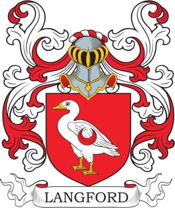 LANGFORD family crest