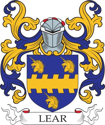 LEAR family crest