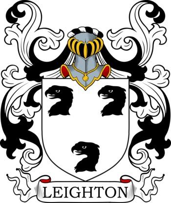 LEIGHTON family crest