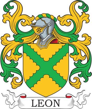 LEON family crest