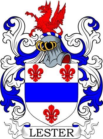 LESTER family crest