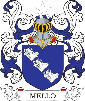 MELLO family crest