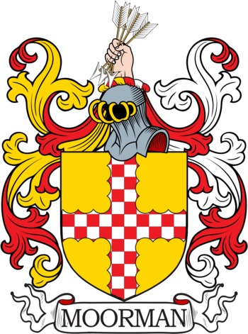 MOORMAN family crest