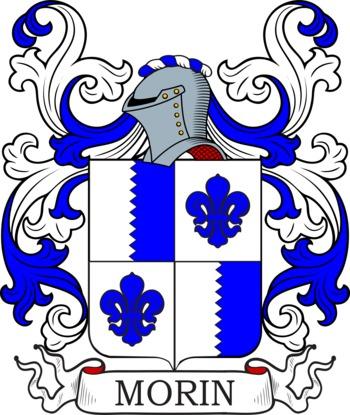 MORIN family crest