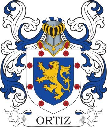 ORTIZ family crest