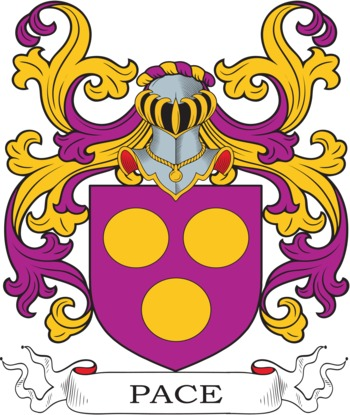 PACE family crest