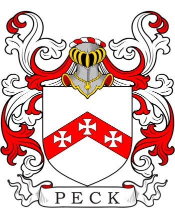 PECK family crest