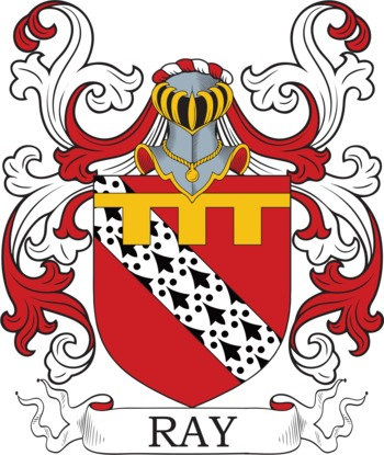 RAY family crest