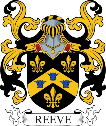 REEVE family crest