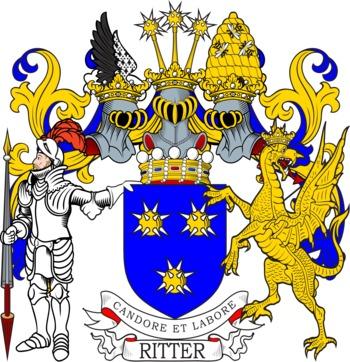 Ritter family crest