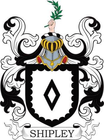 SHIPLEY family crest
